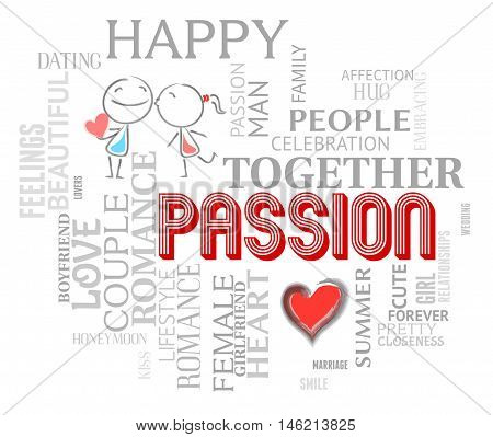 Passion Words Shows Find Love And Compassion