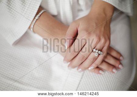 Bridal Ring, White Wedding, Diamond Ring, Wedding Life