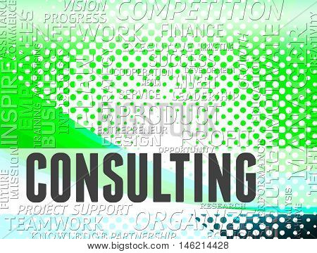 Consulting Words Means Turn To And Advise