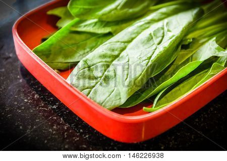 Choy Prepared For Cooking
