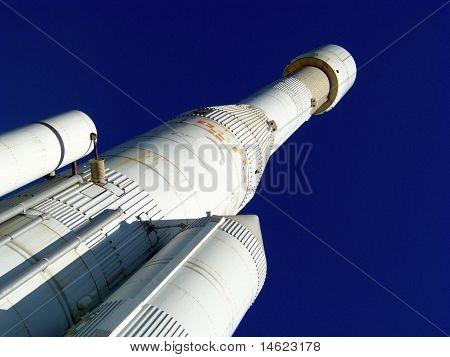 Ariane Spaceship Portrait