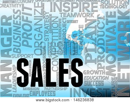 Sales Words Indicate Consumer Promotion And Purchases