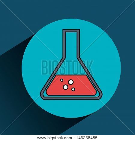 tube laboratory services medical isolated vector illustration eps 10