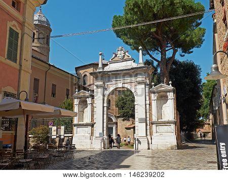 Basilica Of San Vitale In Ravenna, Emilia-romagna. Italy.