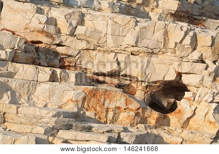 Brown Sedimentary Rocks