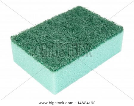 Green Kitchen Sponge