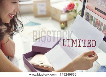 Limited Unique Time Amount Edition Graphic Concept