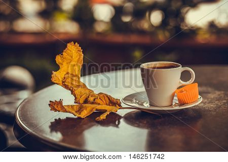 Turkish Coffee  With Leafe 2