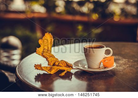Turkish Coffee  With Leafe 4
