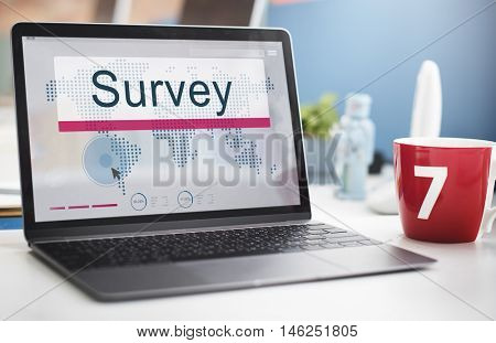 Survey Solutions Survey Information Feedback Concept