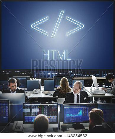 Web Development Internet Digital Graphic Html Concept