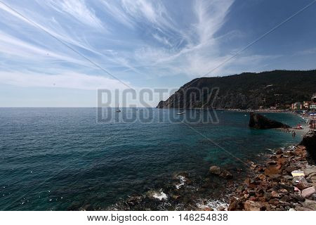 View Of The Gulf Of Monterosso A