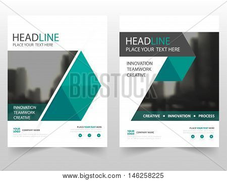 Green black abstract business Brochure Leaflet Flyer annual report template design book cover layout design abstract business presentation template a4 size design