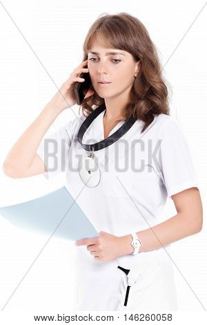 Woman Doctor Ent