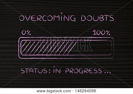 Overcoming Doubts Progress Bar Loading