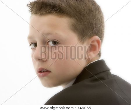 Boy In Profile