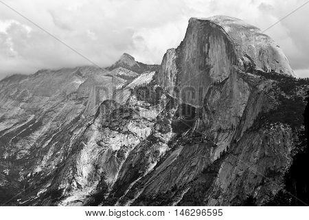 Half Dome From Glacier Point Yosemite National Park, Sierra Nevada, California