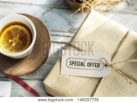 Special Offer Commerce Limited Marketing Concept