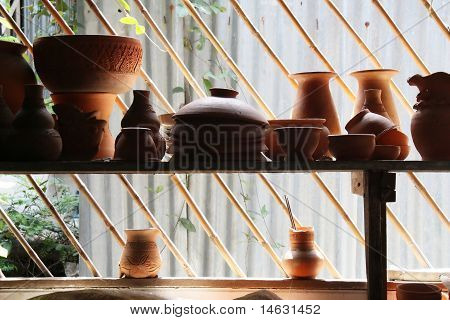 Pottery, Made In Thailand