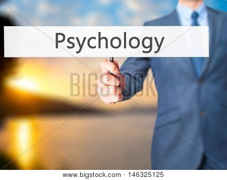 Psychology - Business Man Showing Sign