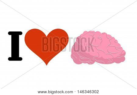 I Love To Think. Heart And Brain. Logo For Wiseacre, Fans Speculate
