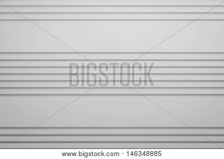 white siding line layout paper material background 3d render