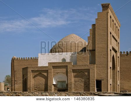 Mosque in the Old Town in Khiva, Uzbekistan