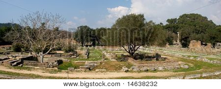 Ancient Olympia the cradle of the olympic games in Greece