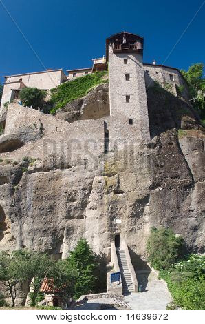 Great metoron monastery - Meteora Thessalia central  Greece