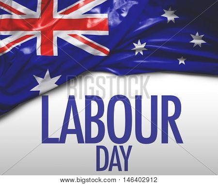 Labour Day (Labor Day in Australian English) and Australia national flag
