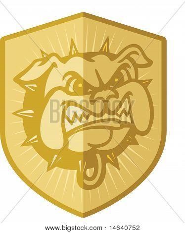 Security Badge Dog
