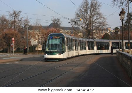 Tramway in Strasbourg France