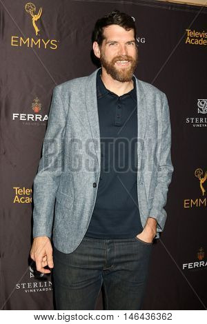 LOS ANGELES - SEP 8:  Timothy Simons at the TV Academy Reception for the Nominees for Outstanding Casting at the Montage Hotel on September 8, 2016 in Beverly Hills, CA