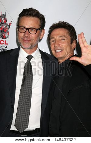 LOS ANGELES - SEP 7:  Connor Trinneer, Dominic Keating at the