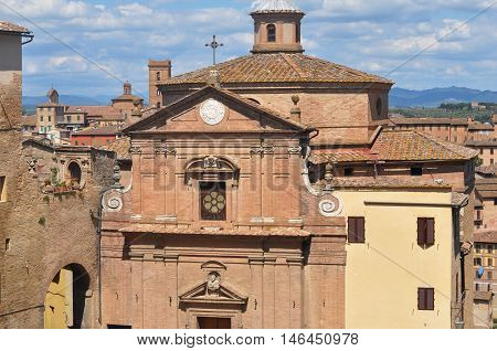 San Giuseppe Onda Church In Siena