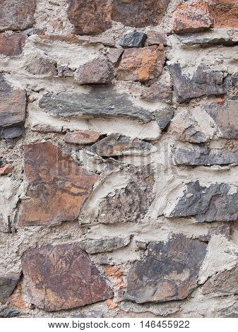 Medieval Wall Stone, Middle Ages Background Texture