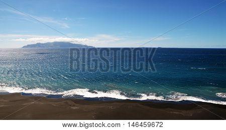 Waves In Cabo Verde