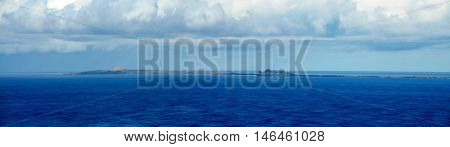 Islet Of Djeu In The Deep Blue Sea