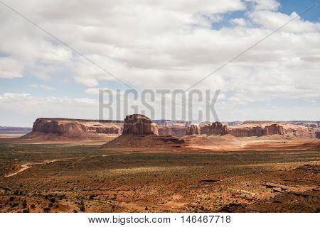 Monument Valley three sisters navajo tribal park