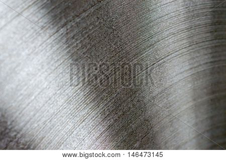 Close up of a Shiny Steel Coil