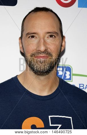 Tony Hale at the 5th Biennial Stand Up To Cancer held at the Walt Disney Concert Hall in Los Angeles, USA on September 9, 2016.