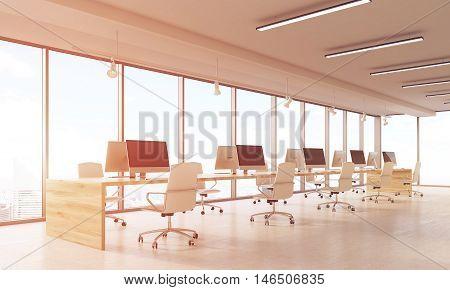 Computer Lab In Skyscraper