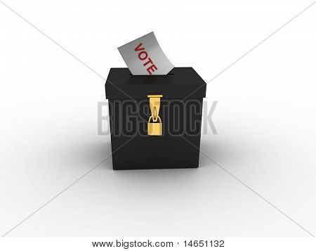 Golden Style Vote Box