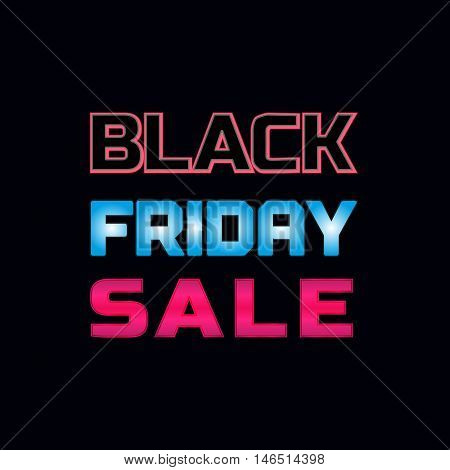 Super sale Concept. Black Friday off price special bonus. Big Discount offer promotion. Price drop. Design element of season hot deal campaign banner. Background for advertisement. Vector illustration