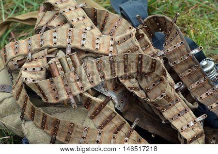 Soviet historical military items.At September 19,2016 in Kiev, Ukraine