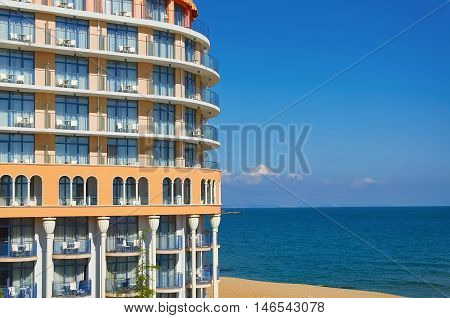 Building on the Shore of the Black Sea