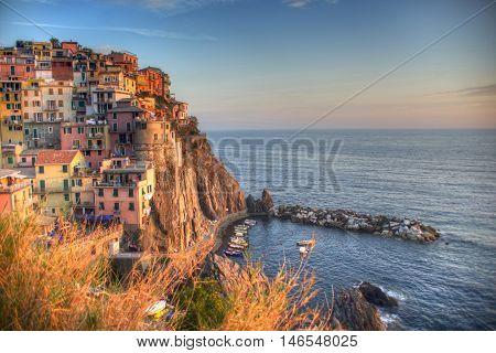 The Cinque Terre, Manarola