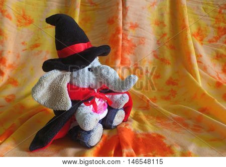The Cutest Witch for Halloween!! Greeting Card, Background