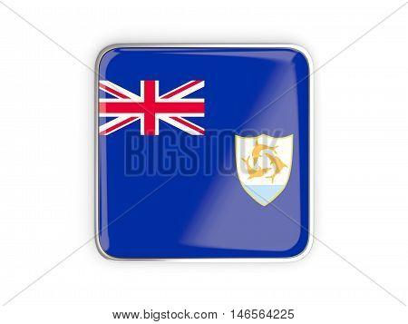 Flag Of Anguilla, Square Icon