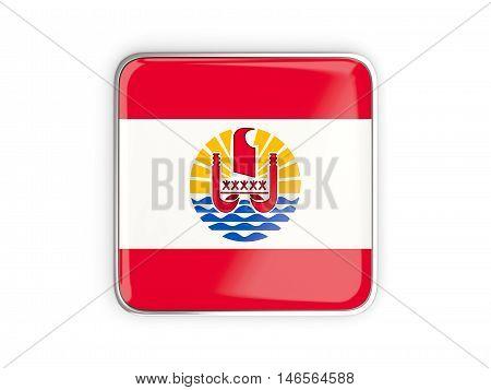 Flag Of French Polynesia, Square Icon